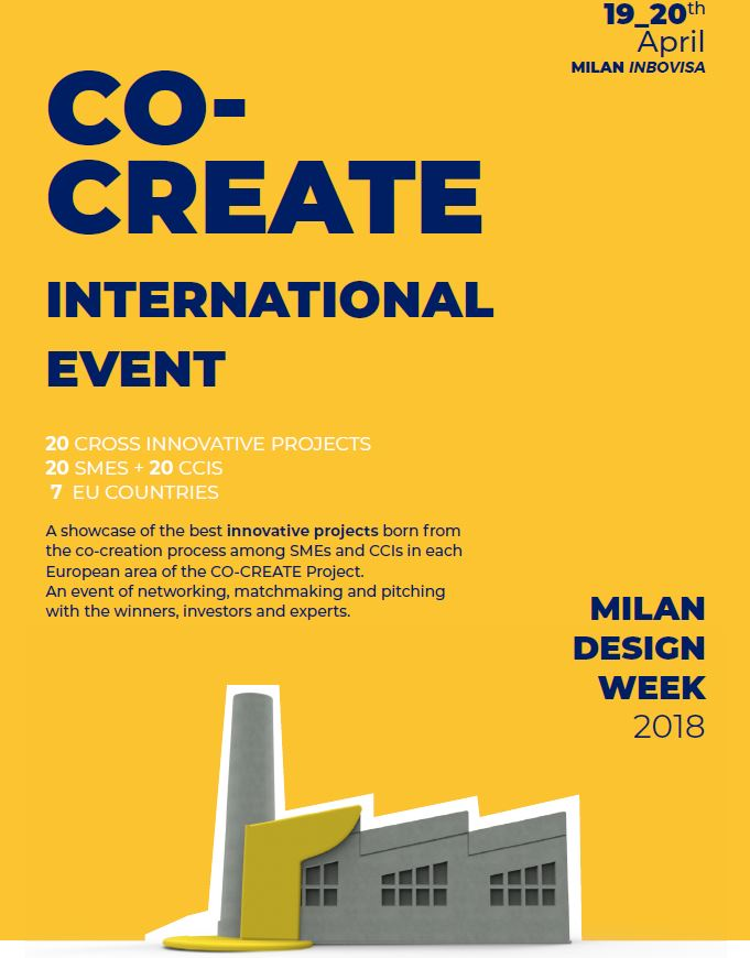Flyer International Event Milano